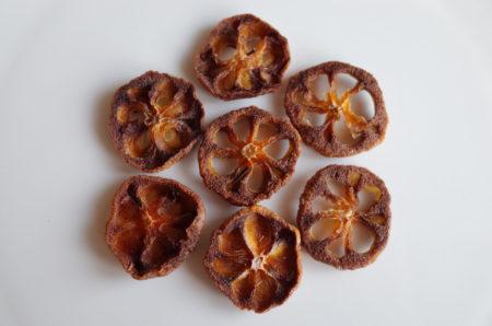 見た目もかわいい保存食 「柿のドライフルーツ」